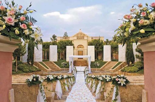 Historical and beautiful Spanish hacienda garden