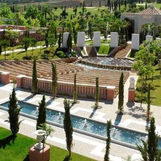 Remarkable amphitheater for a distinct wedding experience