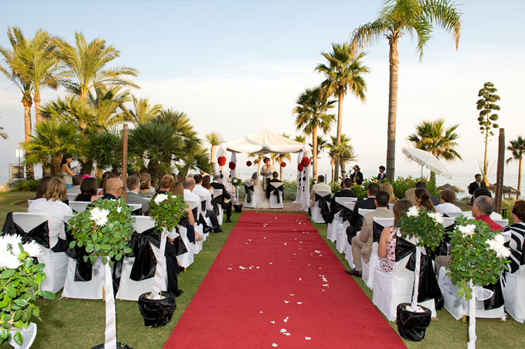 andalucia wedding beach front resort wedding service spain