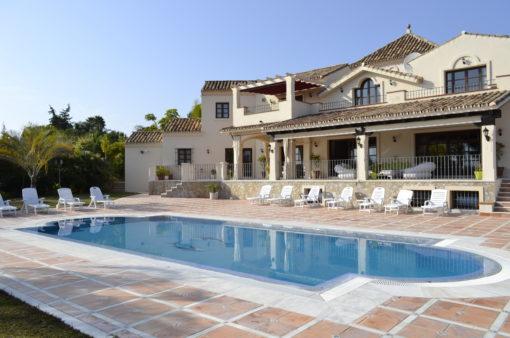 Villa Africa pool
